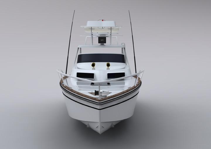 豪华玻璃钢钓鱼艇 - 玻璃钢船 - 威海海宝游艇有限公司