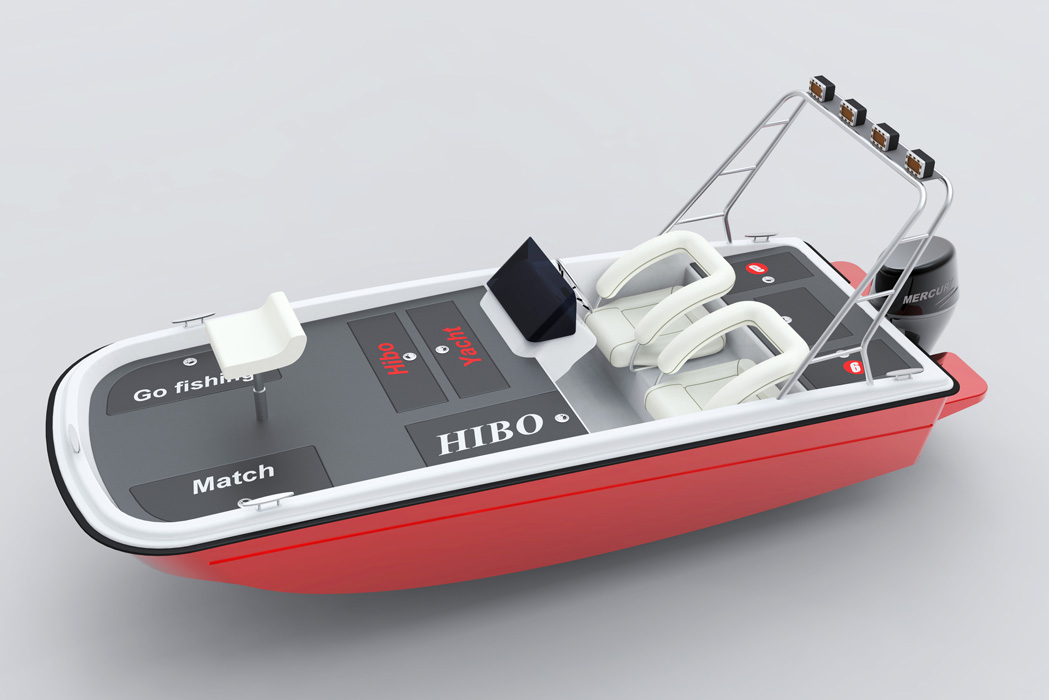 全玻璃钢路亚艇 - 玻璃钢船 - 威海海宝游艇有限公司