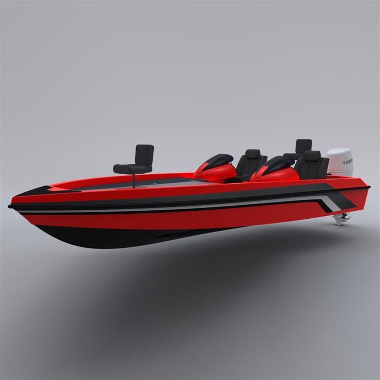 frp-650海水路亚艇 - 玻璃钢船 - 威海海宝游艇有限